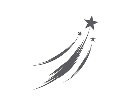 Star icon Template vector illustration design