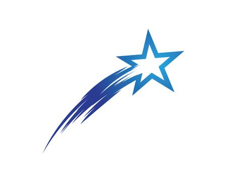Star icon Template vector illustration design