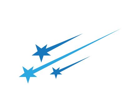 Conception d'icône étoile modèle vector illustration