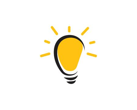 light bulb symbol vector design illustration Banque d'images - 122413269