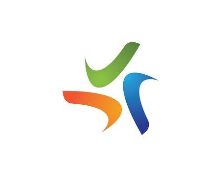 triangle icon vector design illustration template