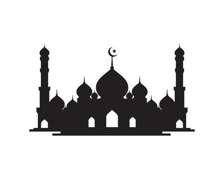 Moslem icon vector Illustration design template Vector Illustration