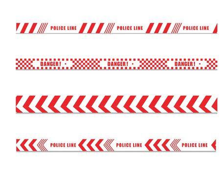 police line icon design ilustration template