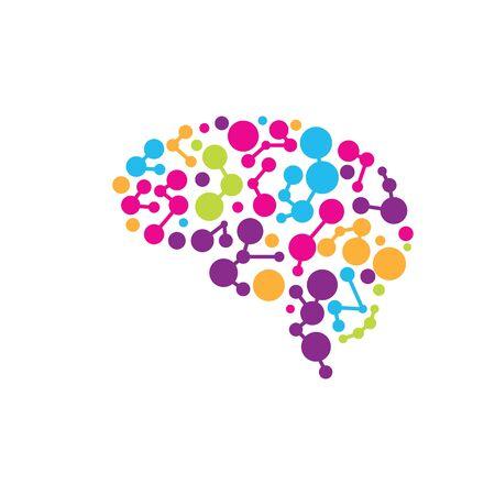 Health Brain vector illustration icon template design