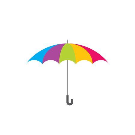 Umbrella icon vector design template Vector Illustratie