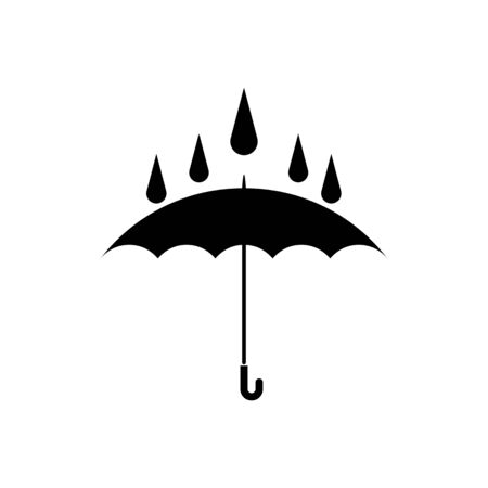 Umbrella icon vector design template Vectores