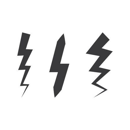 Bolt icon Vector Illustration design Logo template Çizim