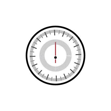 Speedometer Vector Illustration Icon Design Royalty Free