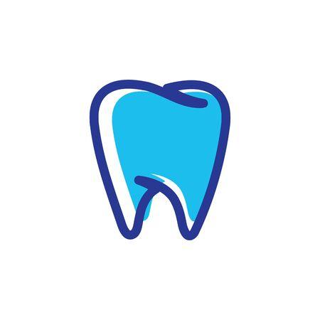 Dental logo Template vector illustration icon design Banque d'images - 129147176