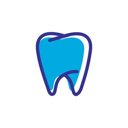 Dental logo Template vector illustration icon design Banque d'images - 129147235