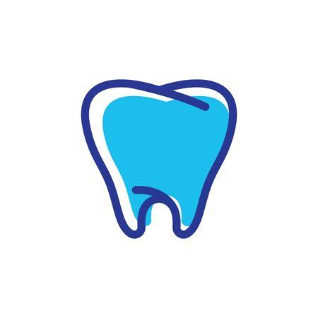 Dental logo Template vector illustration icon design Banque d'images - 129153079