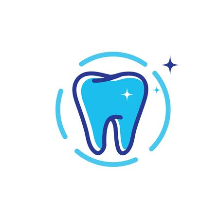 Dental logo Template vector illustration icon design Banque d'images - 129153078
