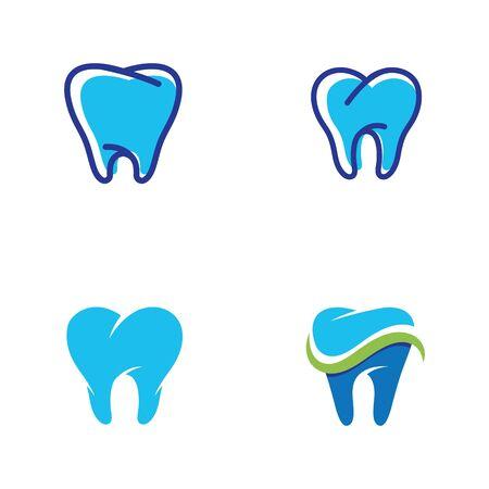 Dental logo Template vector illustration icon design Zdjęcie Seryjne - 129132172