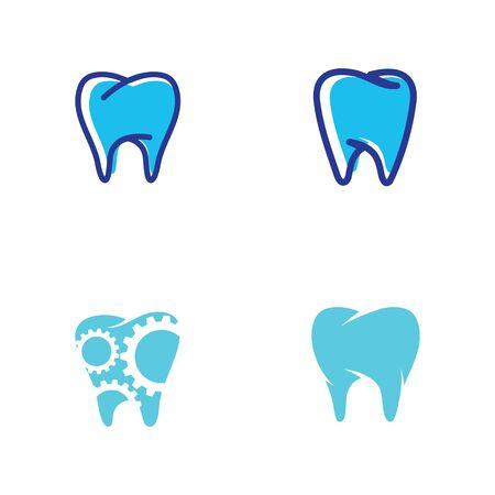Dental logo Template vector illustration icon design Zdjęcie Seryjne - 129132200
