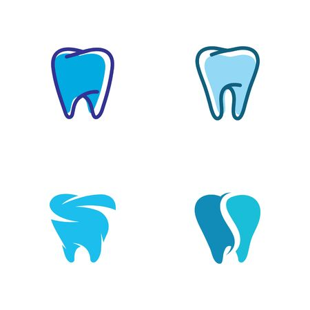 Dental logo Template vector illustration icon design Zdjęcie Seryjne - 129132204
