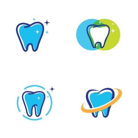 Dental logo Template vector illustration icon design Zdjęcie Seryjne - 129193384
