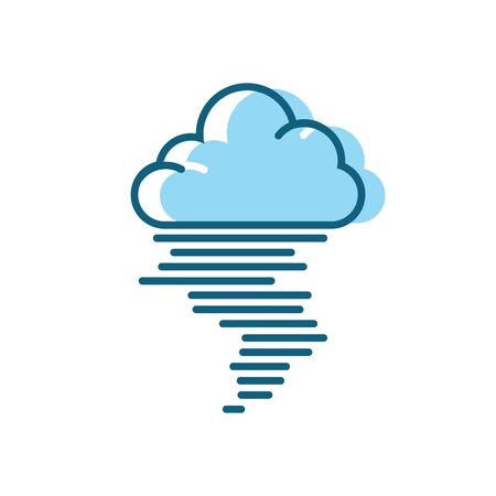 Tornado logo symbol vector illustration design