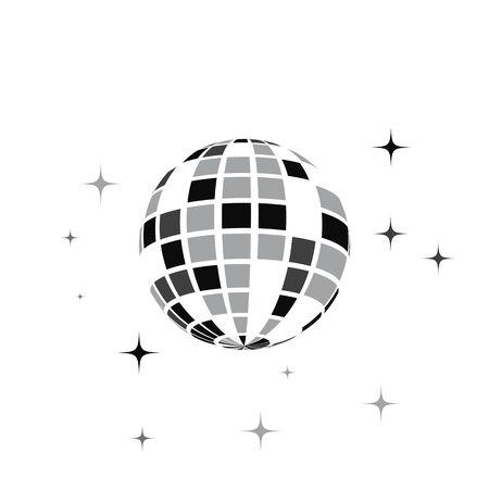 discobal icon Vector Illustration design template Standard-Bild - 129461036