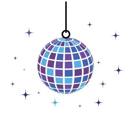discobal icon Vector Illustration design template
