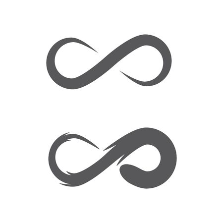 Infinity Design Vector icon illustration Logo template design 일러스트