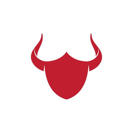 Taurus Logo Template vector icon illustration design