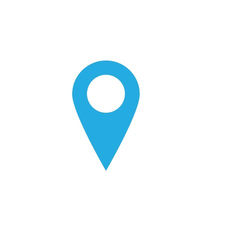 location icon Vector Illustration design Logo template Иллюстрация