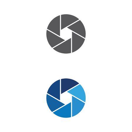 Plantilla de diseño de ilustración de icono de vector de cámara Ilustración de vector