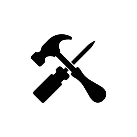 tool icon Vector Illustration design Logo template