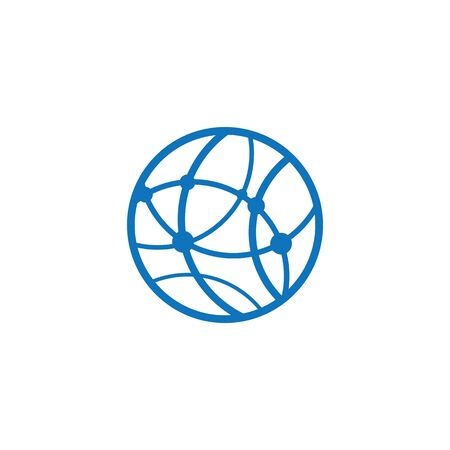 Global icon vector illustration design template