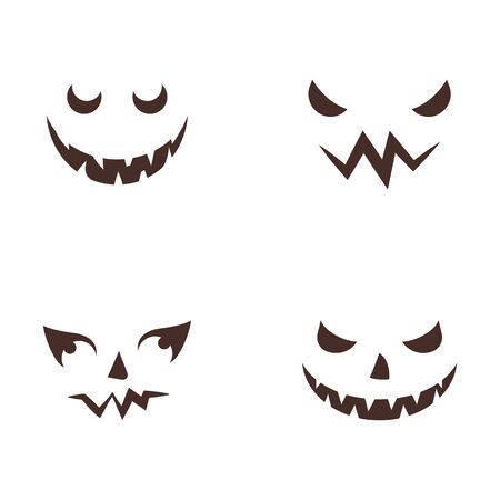 Happy Halloween icon vector illustration