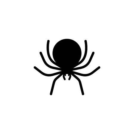 Spiders Happy Halloween icon vector illustration 向量圖像