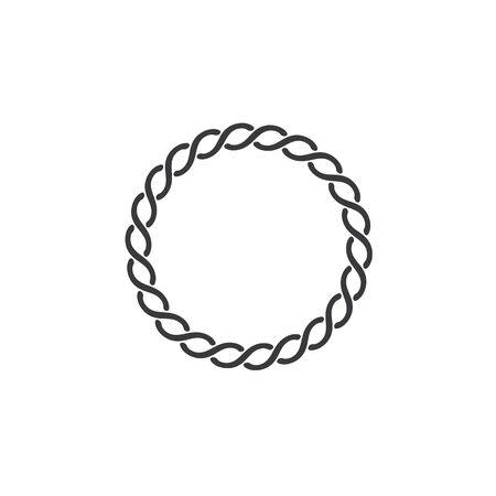 Chain vector illustration design template