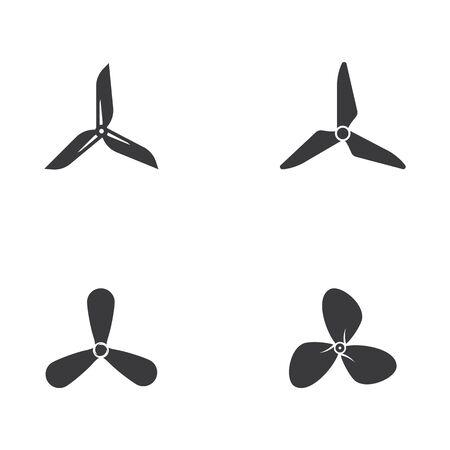 Fan vector illustration icon Template design