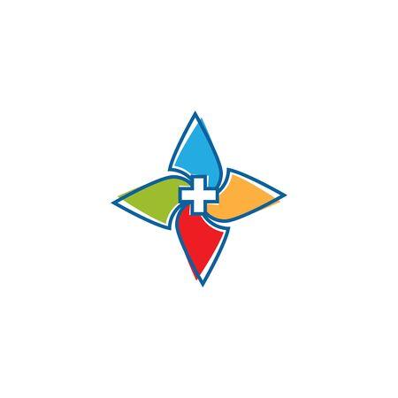 Health Medical Logo template vector illustration design Фото со стока - 130460318