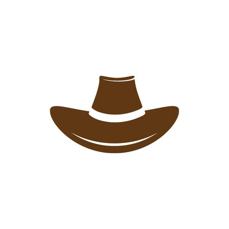 Hat West vector icon illustration design template  イラスト・ベクター素材