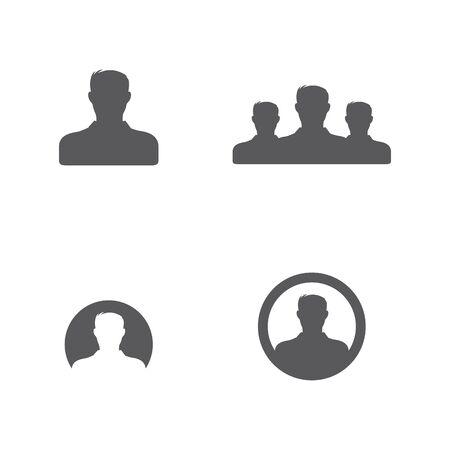 People Icon work group Vector illustration design Ilustração