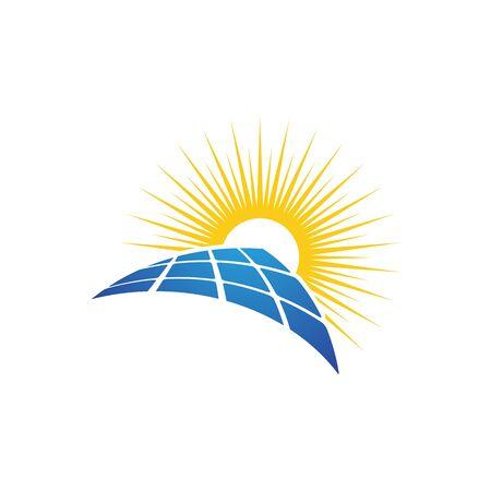 Solar Energy vector icon illustration design template  イラスト・ベクター素材