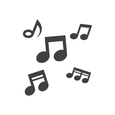 Music note Icon Vector illustration design