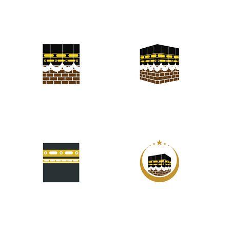 Ka bah icon Vector Illustration design Logo template