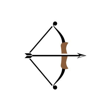 Archer icon Vector Illustration design Logo template Logo
