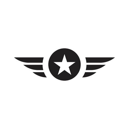 army military vector icon design template