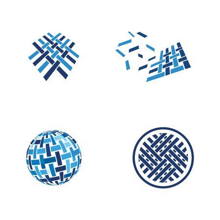 Stoff-Icon-Design-Vorlage-Vektor-illustration
