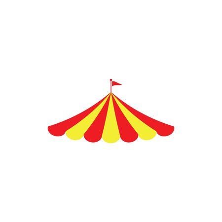 Icono de circo Diseño de ilustración vectorial Plantilla de logotipo Logos