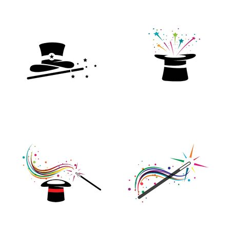 Magic Vector icon illustration design Template