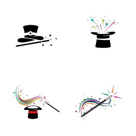 Magic Vector icon illustration design Template