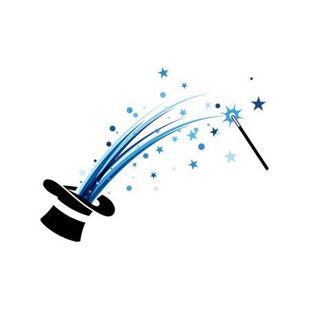 Magic Vector icon illustration design Template Vektorové ilustrace