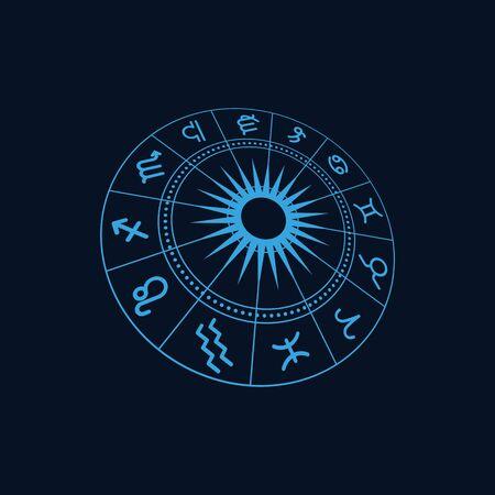 Zodiac icon vector illustration design