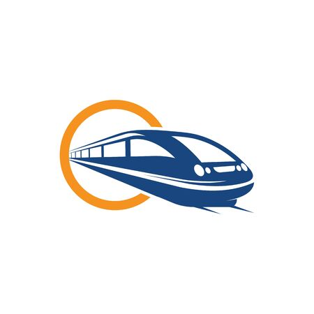 Fast Train icon vector illustration design template
