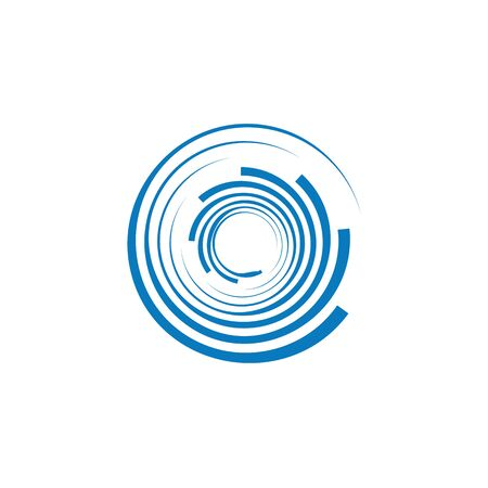 Spiral icon Template vector illustration design Ilustracja