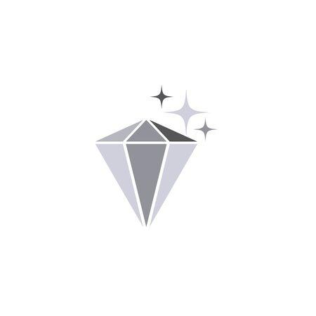 Diamond Logo Template vector icon illustration design